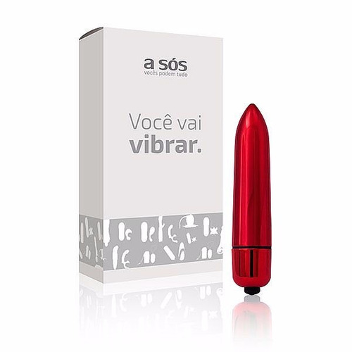top vibrador bullet wireless a sós + lubrificante.