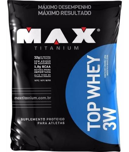 top whey 3w 1,8kg baunilha max titanium