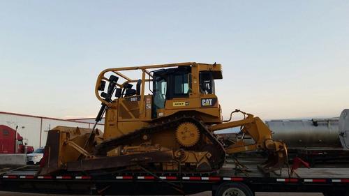 topador bulldozer d6t xl con ripper, pala, cabina cerrada