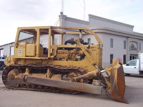 topador frontal d8k caterpillar bulldozer con winchno. folio