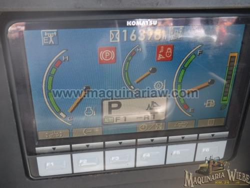 topador frontal komatsu d155a x-6 2008 cadenas zapatas a 90%