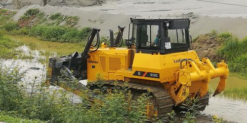 topadora liugong b160 no caterpillar cat
