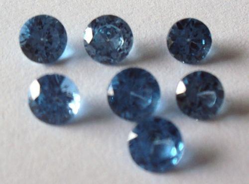 topázio swiss- 5mm -  2 pedras