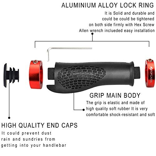 topcabin puños para manillar ergonómicos de diseño ergonómic