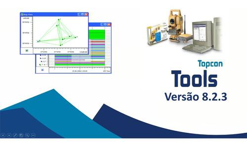 topcon tools 8.2.3 + topcon link 8.2.3