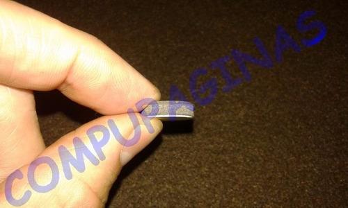 tope autoadhesivo antideslizante x 48 regatón goma 15 x 2 mm