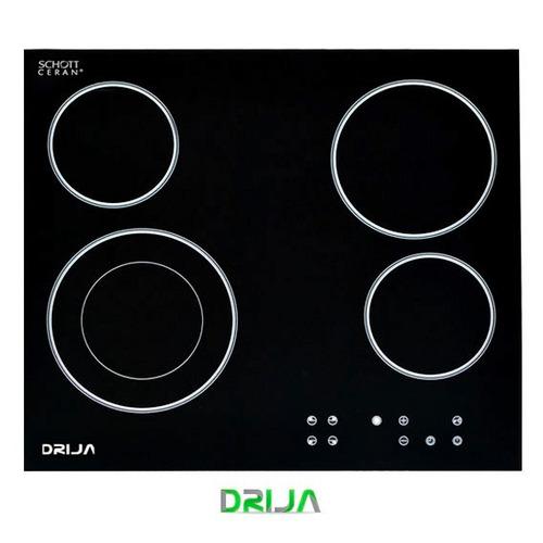 tope cocina empotrar eléctrico vitroceramica 60 cm drija