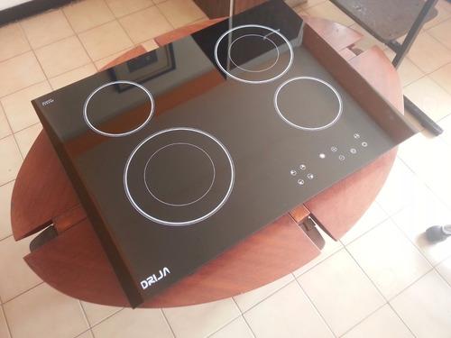 tope cocina empotrar eléctrico vitroceramica 70 cm drija
