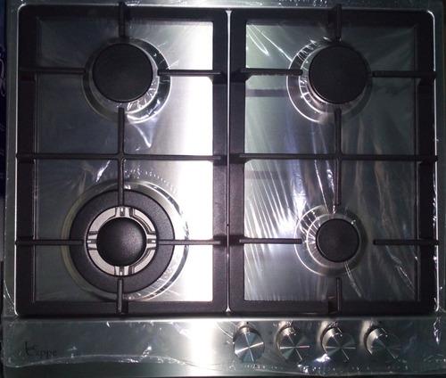 tope cocina gas 60 cms acero 24  le cappe (220 oferta)