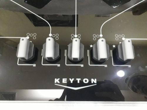 tope de cocina a gas 70 cm vitroceramica 5h keyton