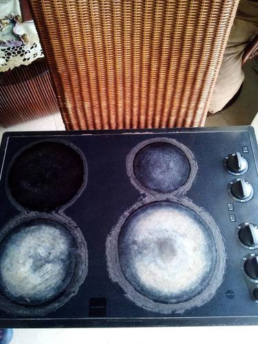 tope de cocina eléctrica marca general electric
