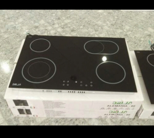 tope de cocina empotrar eléctrico vitroceramica 80 cm drija