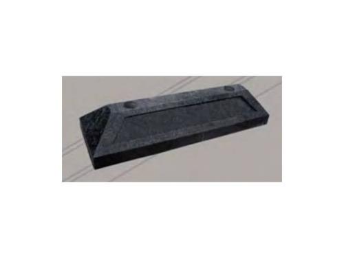 tope de estacionamiento de 50 cm negro ( 3 piezas )