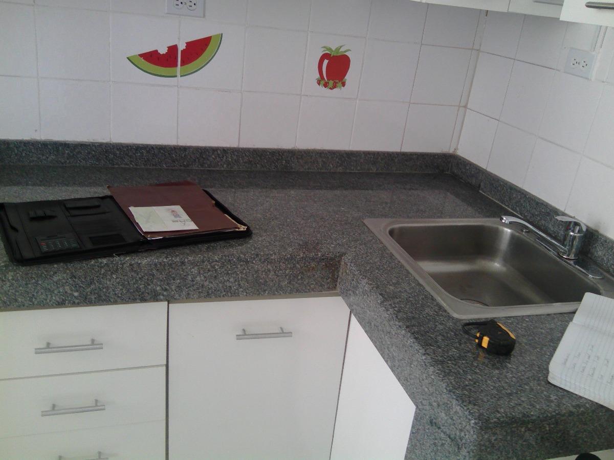Tope de granito para cocina color gris nuevo bs for Color gris granito