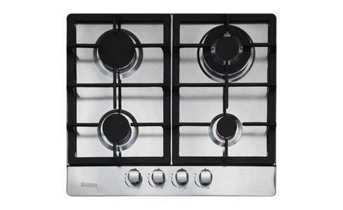 tope empotrar cocina gas bacco 60 cm acero inoxidable