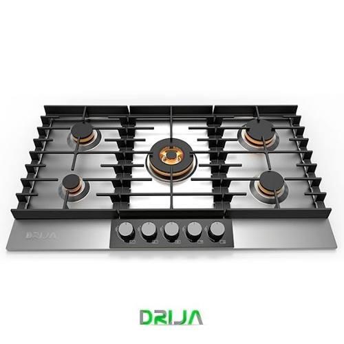 tope empotrar cocina gas drija 90 cm acero inoxidable