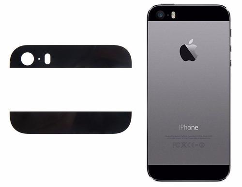 tope superior inferior carcasa iphone 5g 5s blanco y negro