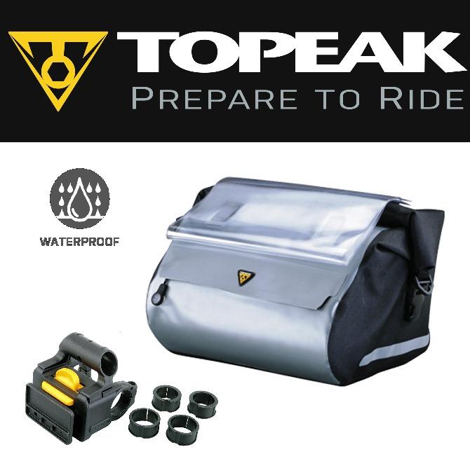 29a5f3f4c1c Topeak Tt9805b Bicicleta Manillar Impermeable Seco Bolsa To - $ 283.313 en  Mercado Libre