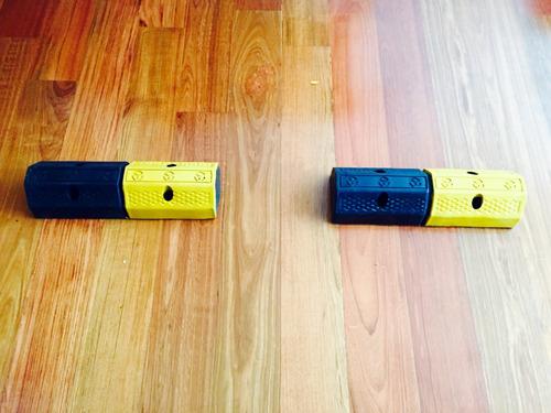 topellantas de caucho - 50x16x10 cms