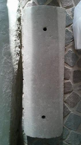 topes cemento 60x20x13 cm estacionamiento garage camiones