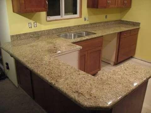 topes de cocina de granito bajo costo muy economica