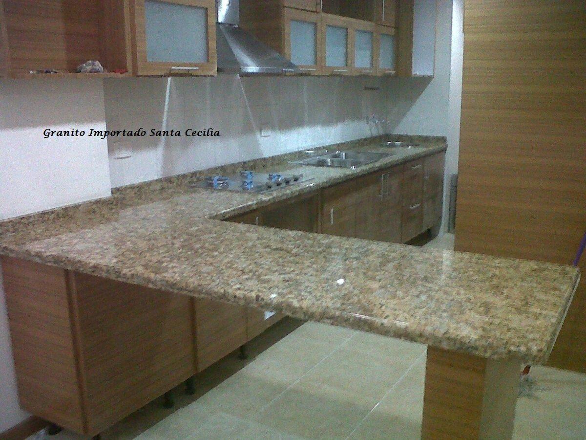 Topes de cocina en marmol granitos y cuarzo en mercado for Marmol de cocina precio