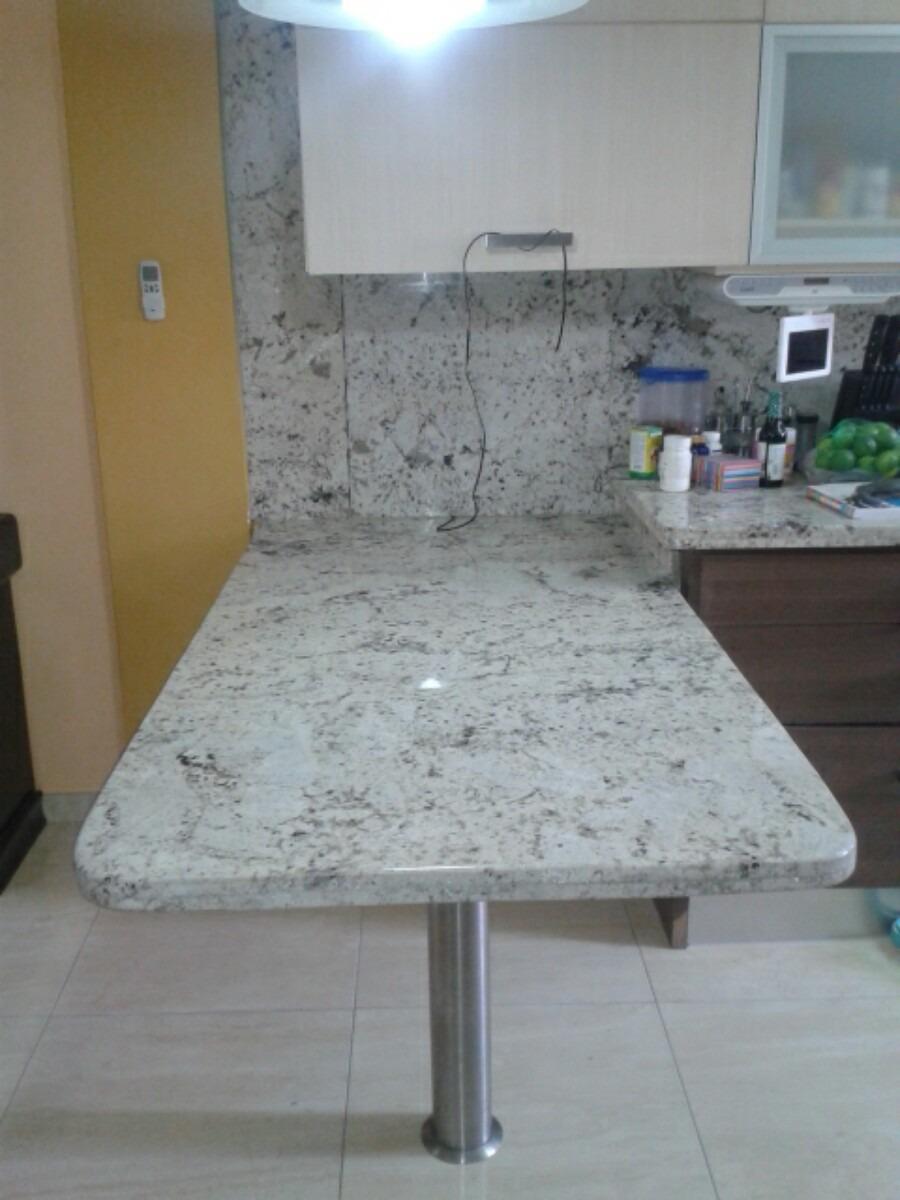 Topes de cocina en marmol granitos y cuarzo en mercado for Clases de marmol para cocinas