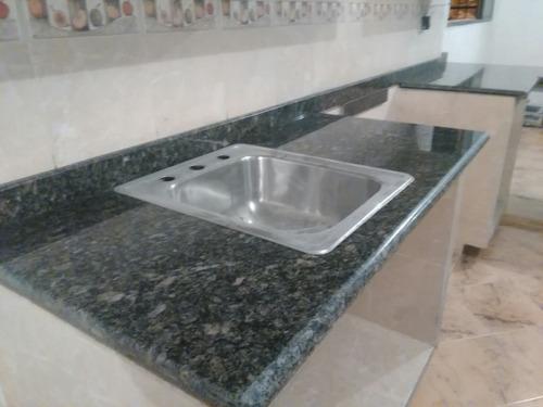 topes de granito, mármol y quarzo para cocinas