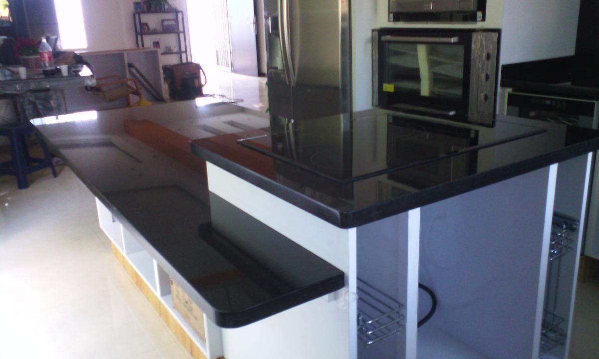 Topes para cocinas ba os barras etc en marmol granito for Barra de granito para cocina precio