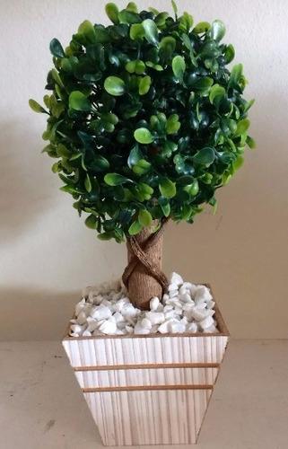 topiaria arvore buxinho buchinho decoração festa arranjo