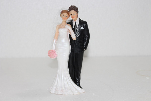 topo de bolo  casal de noivinhos  modelo tradicional er1135