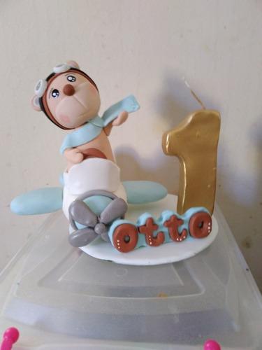 topo de bolo com vela personalizado .nome e idade a escolha