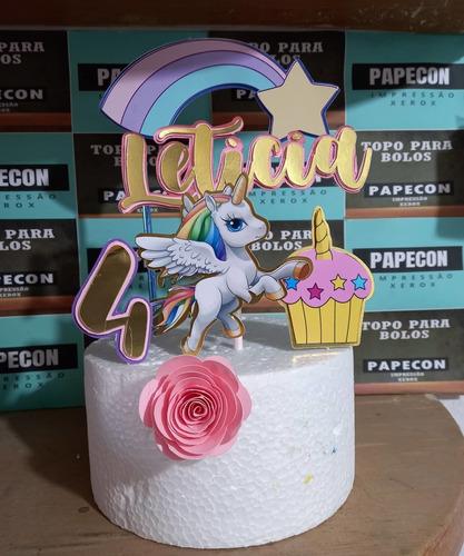topo de bolo de festa