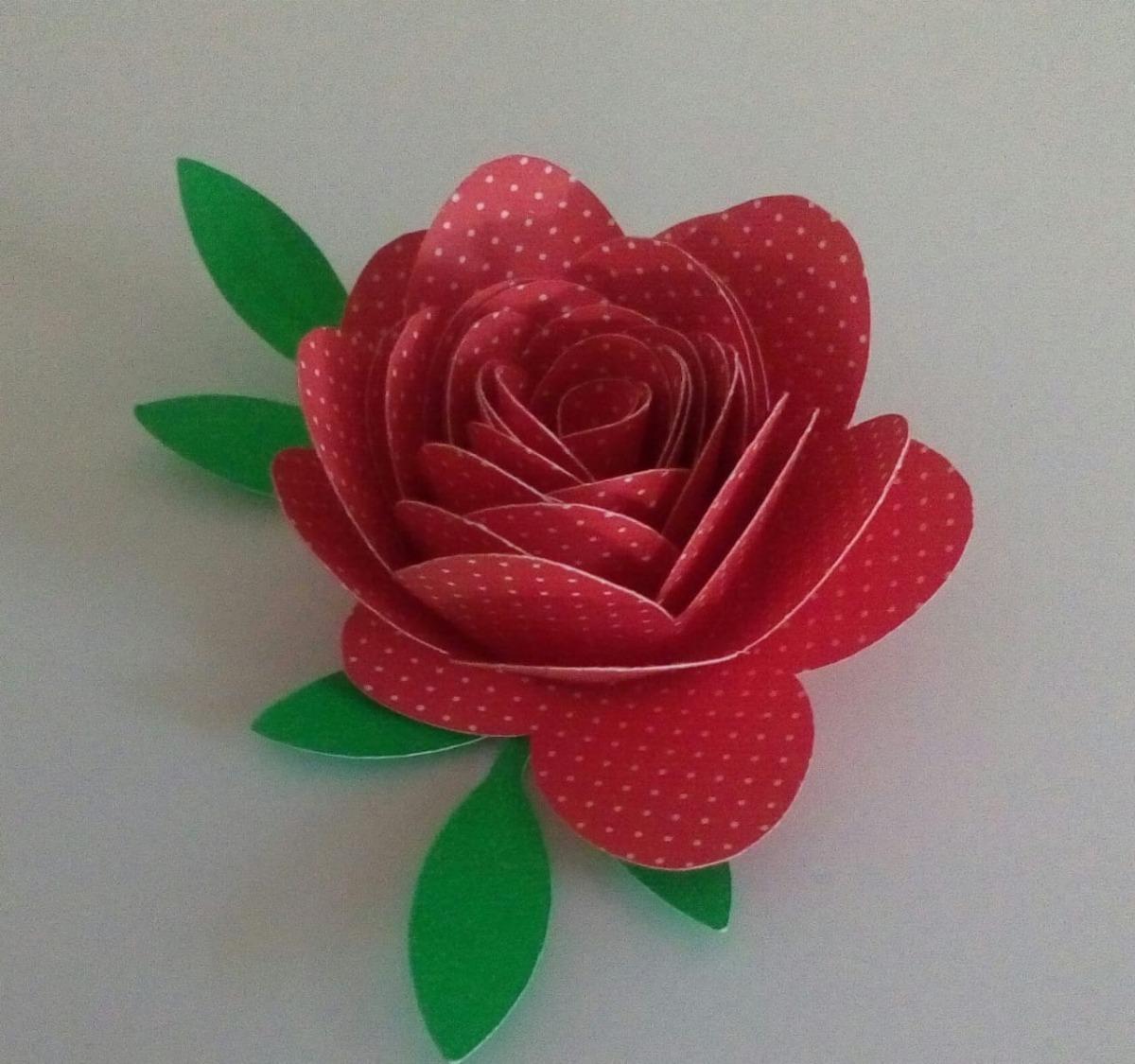 Topo De Bolo Flores De Papel Decorar Lembranças