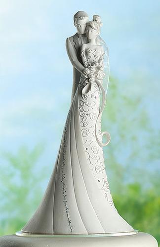 topo de bolo - frete grátis - casamento - noivinhos