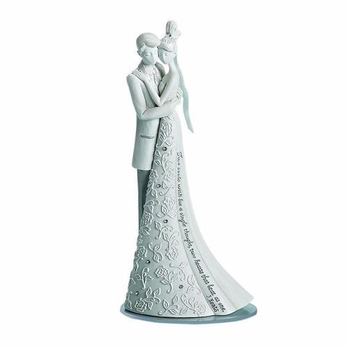 topo de bolo para casamento noivinhos my love forever