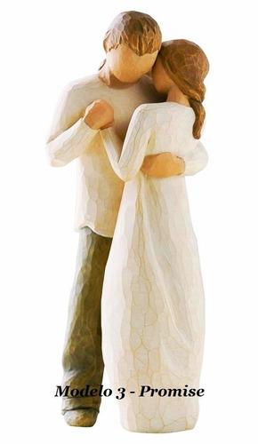 topo de bolo para casamento rústico noivinhos