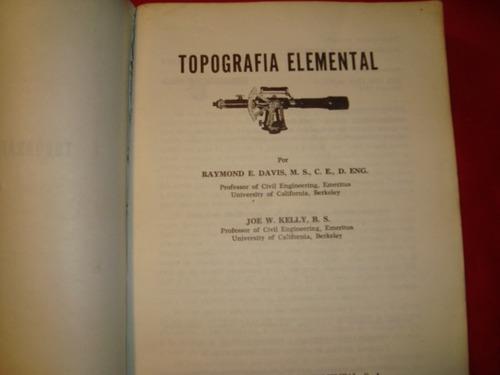 topografia elemental por raimon e. davis-joe w. kelly