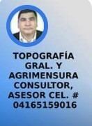 topografía y agrimensura. consultoría, asesoria y servicios