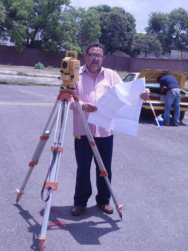 topografo mide terrenos asesoria gratis coord.regven