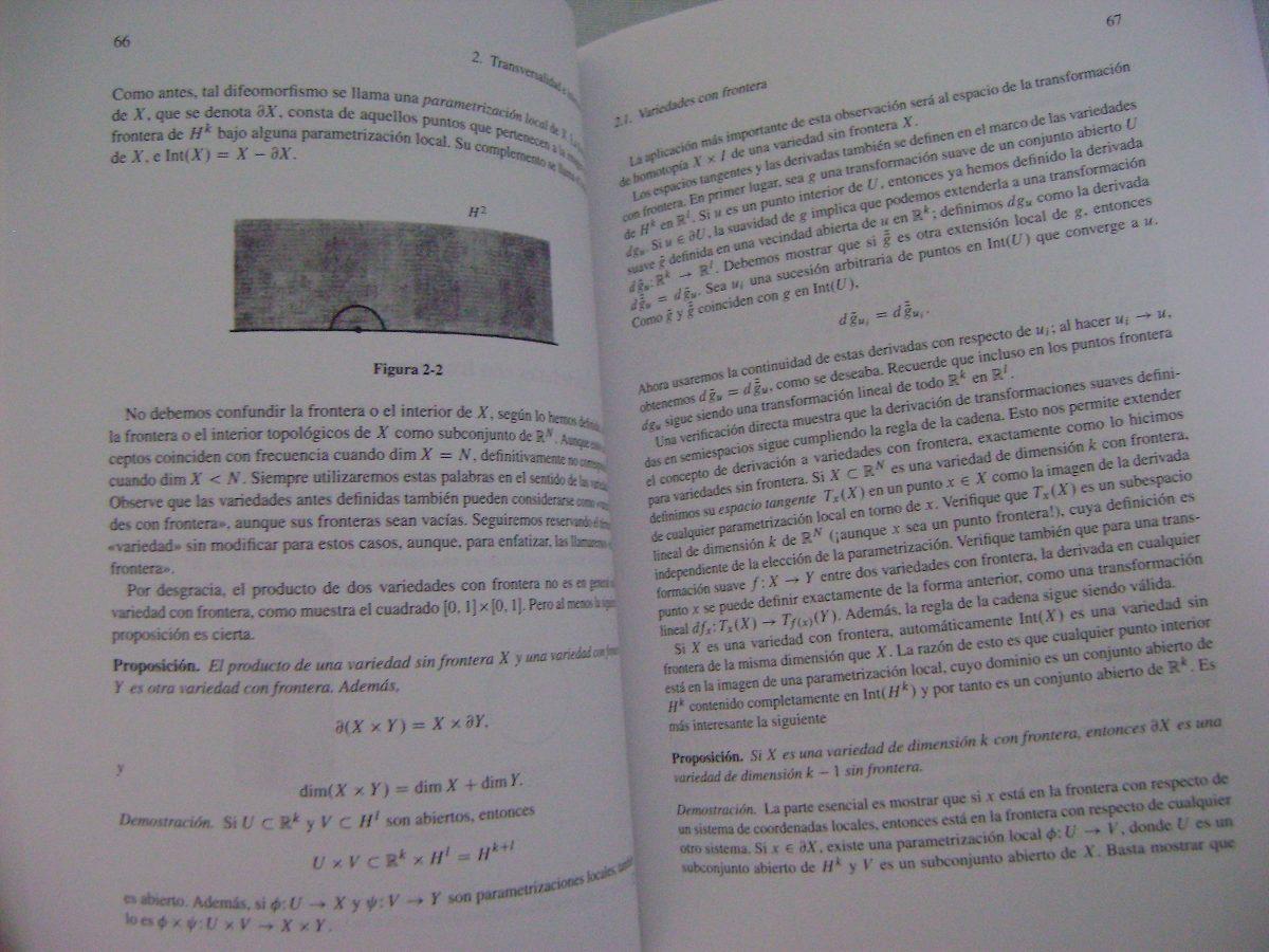 Topología Diferencial - Victor Guillemin / Alan Pollack - $ 830.00 ...