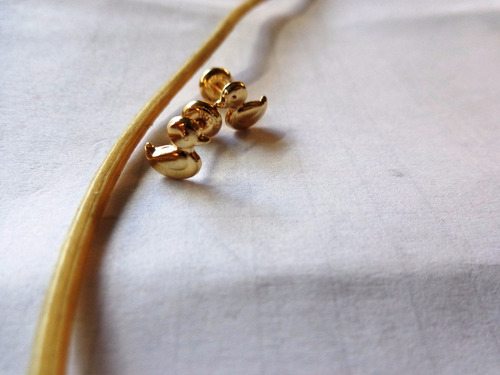 topos en oro de18 kts para bebé (garantizados)