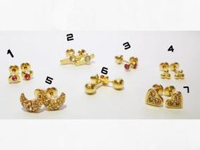 99c0f0a7f36e Aretes De Oro Topos - Aretes de Oro en Mercado Libre Colombia