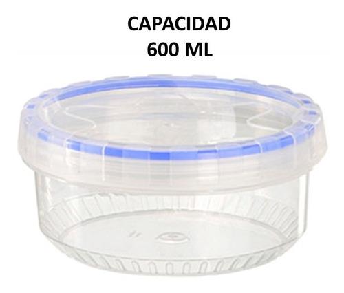 topper hermético taparosca 600 ml 5 piezas