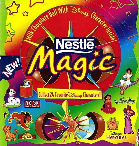 topper miniatura disney magic nestle kinder donald importado