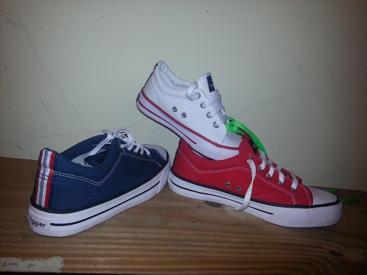 e4cfd43f Cargando zoom... zapatillas topper derby original para niños y niñas lona