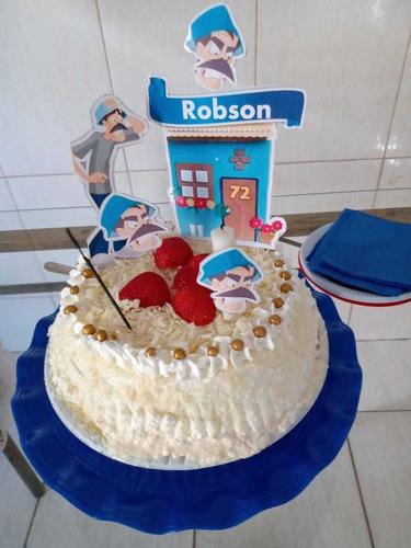 topper para bolo