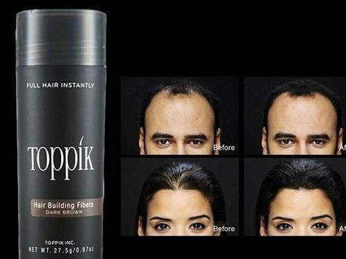 toppik hair 27.5gr dark brown castanho escuro frete gratis