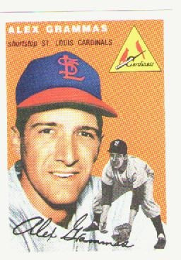 topps 1954 archives  reprints  zimmer, killebrew, pascual...