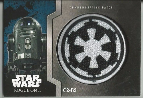 topps star wars rogue one commemorative patch c2-b5 #13